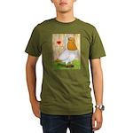I Heart Nuns Organic Men's T-Shirt (dark)