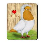 I Heart Nuns Mousepad