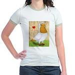 I Heart Nuns Jr. Ringer T-Shirt