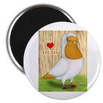 "I Heart Nuns 2.25"" Magnet (10 pack)"
