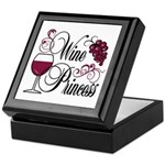 Wine Princess Keepsake Box