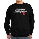 Kiss Me, I'm Japanese Sweatshirt (dark)