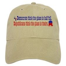 Democrats Vs. Republicans Baseball Cap
