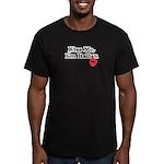 Kiss Me, I'm Italian Men's Fitted T-Shirt (dark)