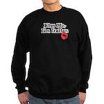 Kiss Me, I'm Italian Sweatshirt (dark)