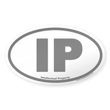 IP Euro Oval Decal