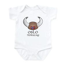 Oslo Norway Infant Bodysuit