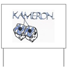 kameron Shop Yard Sign