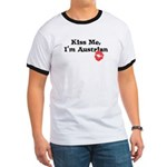 Kiss Me, I'm Austrian Ringer T