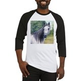 Grey Arabian Mare Baseball Jersey