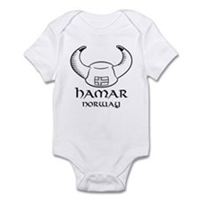 Hamar Norway Infant Bodysuit