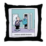 Changing Weather Patterns Throw Pillow