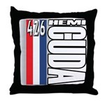 hemi RWBB Throw Pillow