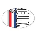 hemi RWBB Oval Sticker (50 pk)