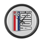 hemi RWBB Large Wall Clock