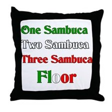 Sambuca Throw Pillow