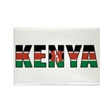 Kenya Rectangle Magnet (10 pack)
