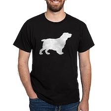 Clumber Spaniel Black T-Shirt