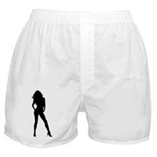 Sexy Girl Boxer Shorts