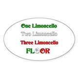 Limoncello Oval Decal