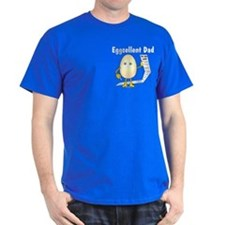 Eggcellent Dad Pocket Image T-Shirt