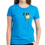 Pirate Egghead Pocket Image Women's Dark T-Shirt