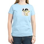 Pirate Egghead Pocket Image Women's Light T-Shirt