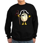 Pirate Egghead Sweatshirt (dark)