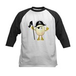 Pirate Egghead Kids Baseball Jersey