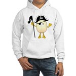 Pirate Egghead Hooded Sweatshirt
