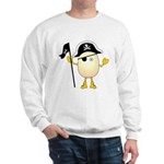 Pirate Egghead Sweatshirt