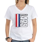 Boss 429 Women's V-Neck T-Shirt