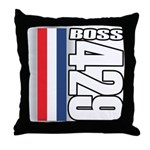 Boss 429 Throw Pillow