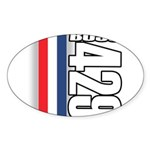 Boss 429 Oval Sticker (50 pk)