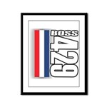 Boss 429 Framed Panel Print