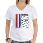 427 SOHC Women's V-Neck T-Shirt