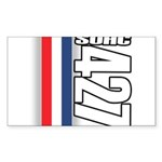 427 SOHC Rectangle Sticker