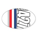 427 SOHC Oval Sticker (10 pk)
