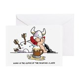 Cute Hagar the horrible Greeting Card