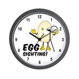 Egg Sighting Wall Clock