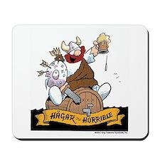 Hagar on Keg Mousepad