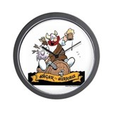Hagar on Keg Wall Clock