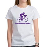 Team Different Spokes Women's T-Shirt