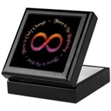 Infinity Is Change Keepsake Box