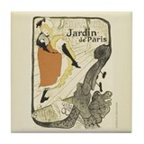 Jardin de Paris - Tile Coaster