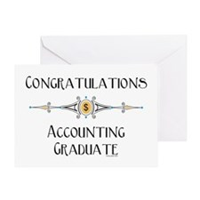 Accounting Graduate Greeting Card