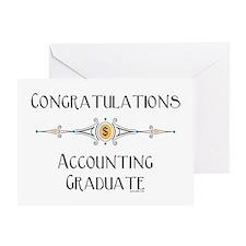 Accounting Graduate Greeting Card