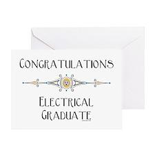 Electrical Graduate Greeting Card
