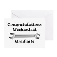Mechanical Graduation Greeting Card