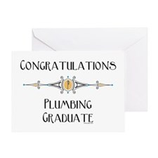 Plumbing Graduation Greeting Card